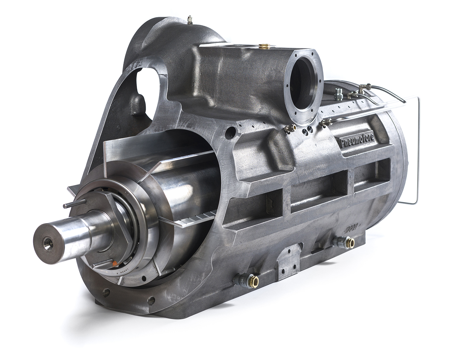 Section of Rotary Vane Air-End