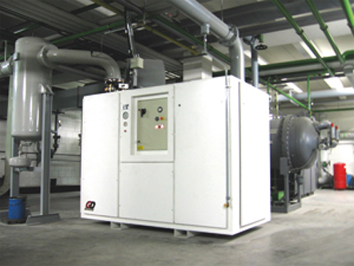 Centralized Vacuum System for Wiegand-Glas - Manufactured by Pneumofore