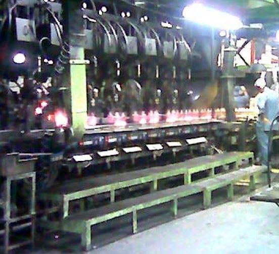 IS Machines for Glass Production