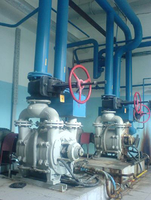 Liquid Ring Vacuum System in Phamaceutical Production Sobstituted by Pneumofore Rotary Vane Vacuum System