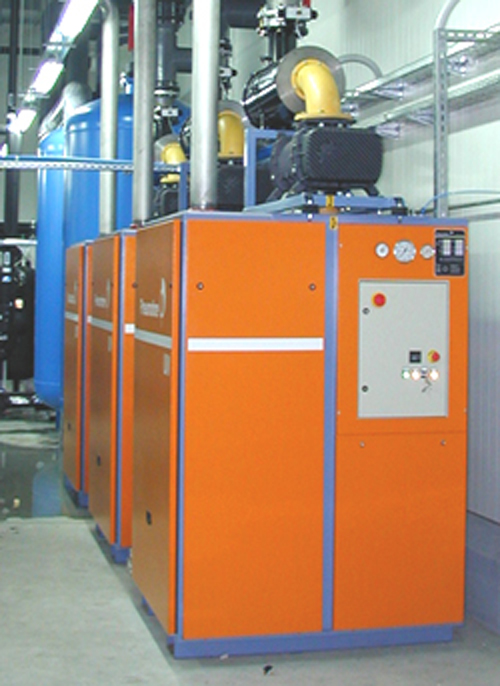 Pneumofore Centralized Vacuum System for Food Packaging running since 2002 at HKScan
