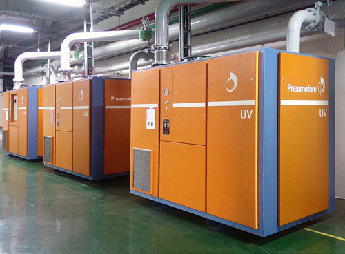 Vacuum implementation and fine-tuning at Siam Glass, Rojana plant in Thailand
