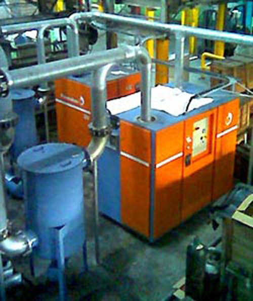 Pneumofore Centralized Vacuum System for Glass Production installed in 2006