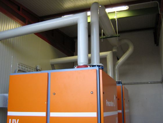 Pneumofore Centralized Vacuum System for Pasta Production - 2007