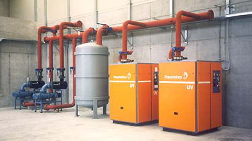 Pneumofore Centrralized Vacuum System for Marble and Tiles Production