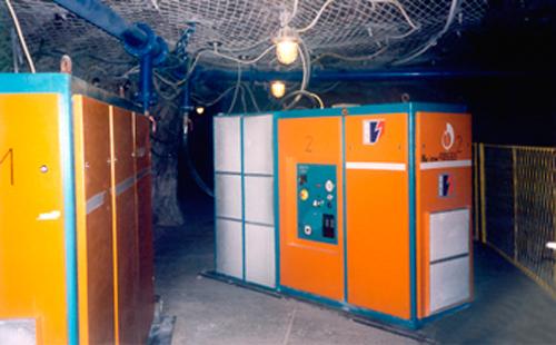Pneumofore Compressors in Underground Mines