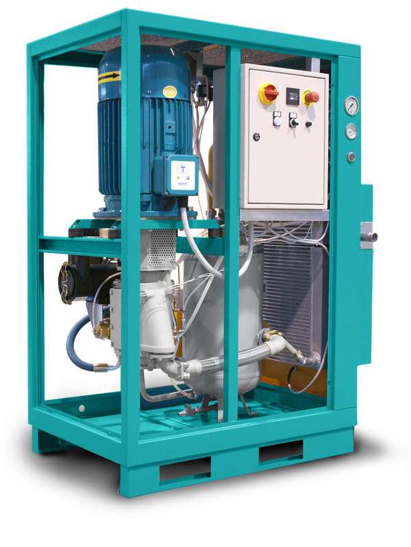 Pneumofore Rotary Vane A Series Air Compressors - Mod. A35