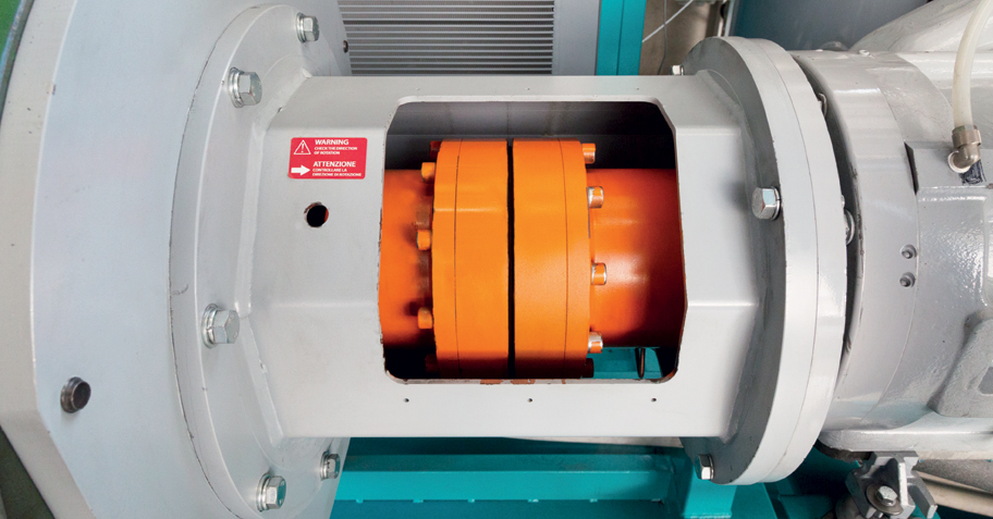 Pneumofore Rotary Vane Air End - A Series Air Compressors - Direct Coupling