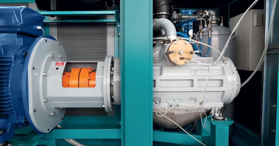 Pneumofore Rotary Vane Air End - A Series Air Compressors