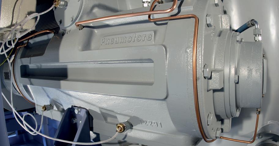 Pneumofore Rotary Vane Air End - UV Series Vacuum Pump Detail