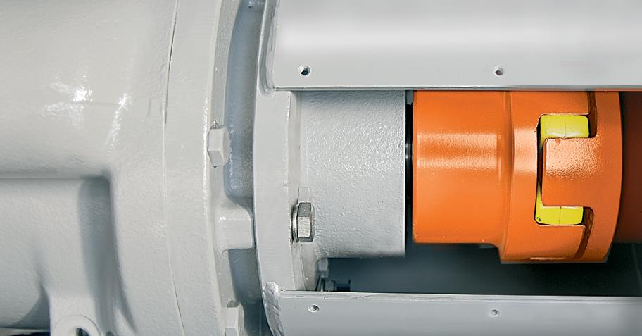 Pneumofore Rotary Vane Air End - UV Series Vacuum Pumps - Direct Coupling