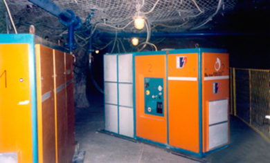 Compressors in Mines
