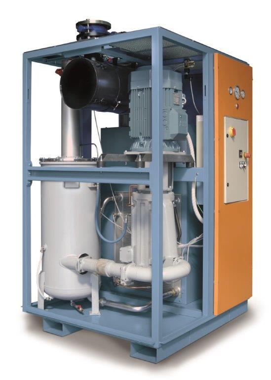 Pneumofore Rotary Vane UV Series Vacuum Pumps - Mod. UV16