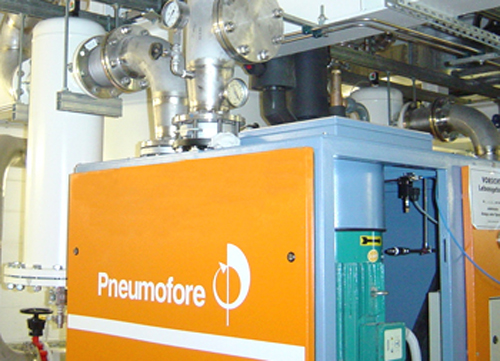 Pneumofore Centralized Vacuum System for the Semiconductor Industry