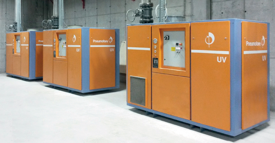 Pneumofore Rotary Vane Vacuum Pumps - Centralized Vacuum System for Glass Production (1)