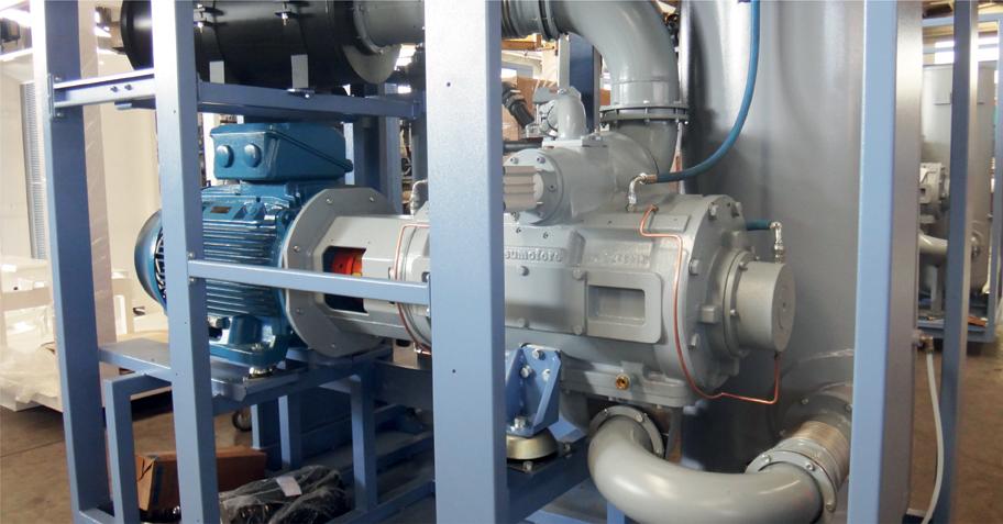 Pneumofore Rotary Vane Vacuum Pumps Details - UV Series (3)