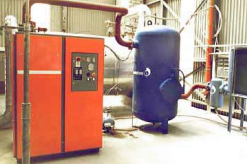 Pneumofore Vacuum System for EPS Production at Swisspor