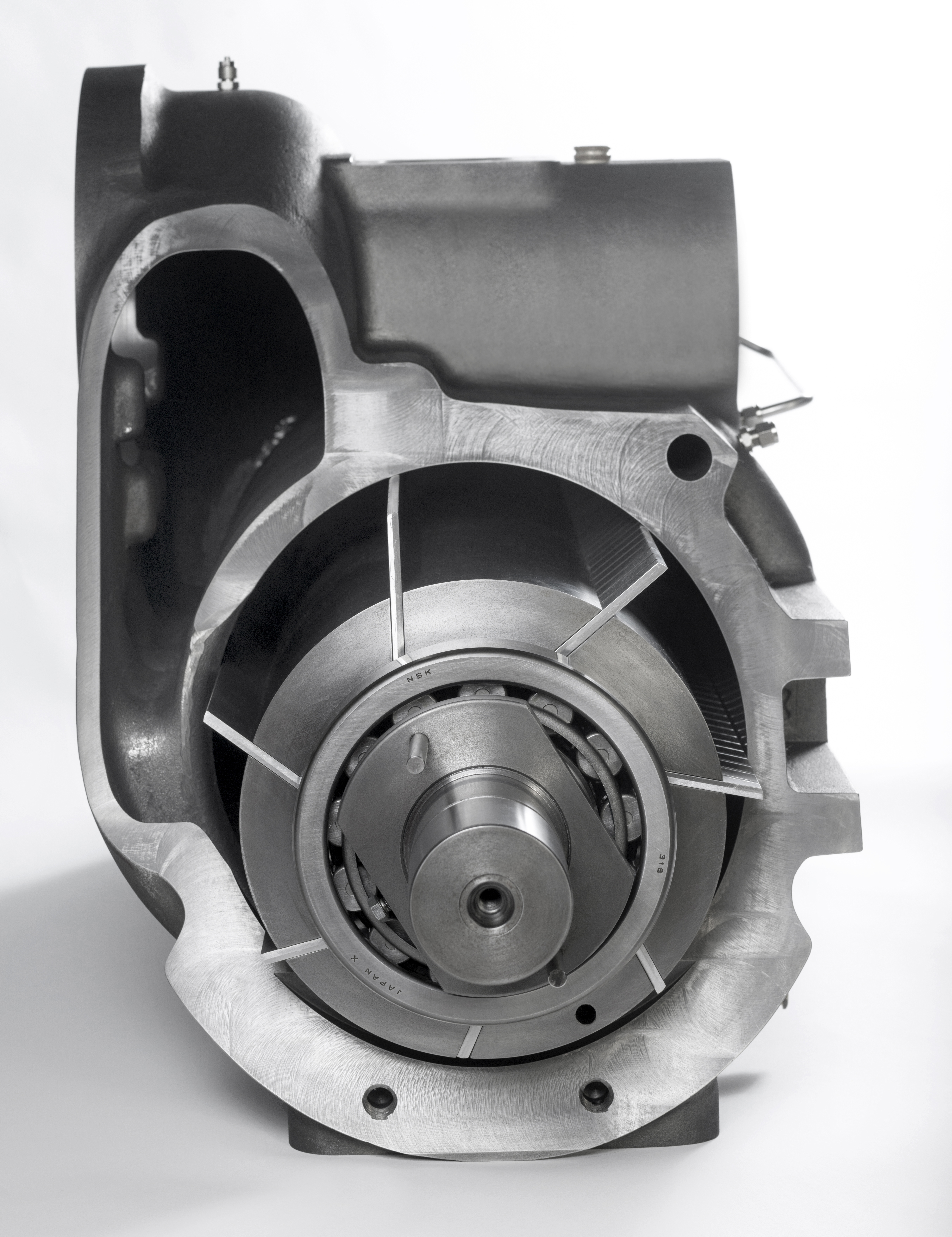 Pneumofore Rotary Vane Air-End Section